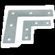 不銹鋼平面角碼